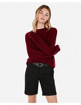 Balloon Sleeve Pullover Sweater by Express