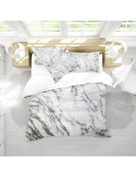 Marble White Duvet Cover , Marble Duvet , Bedding , Dorm Bedding , Bedroom Decor , Housewares , Queen Duvet , Marble Decor , Stone , White by Etsy