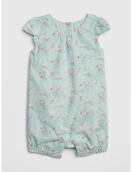 Floral Shorty One Piece by Gap