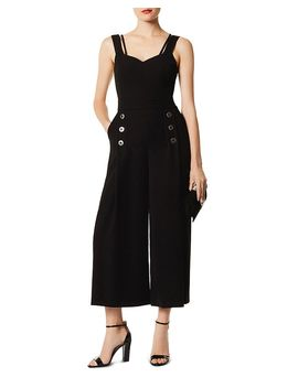 Strappy Wide Leg Jumpsuit by Karen Millen