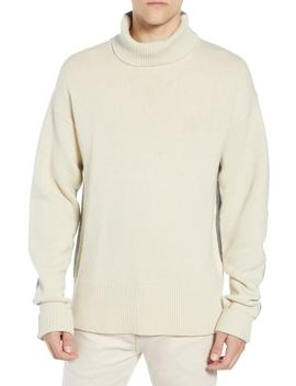 Colorblock Turtleneck Sweater by French Connection