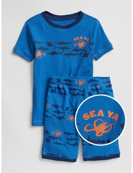Sea Creature Shorty Pj Set by Gap