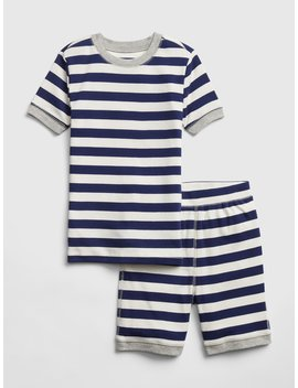 Stripe Short Pj Set by Gap