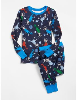 Space Dino Pj Set by Gap