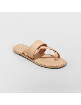 Women's Mad Love Kaden Monochromatic Flip Flop Sandals by Mad Love