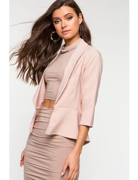 perfect-peplum-crop-long-sleeve-blazer by agaci