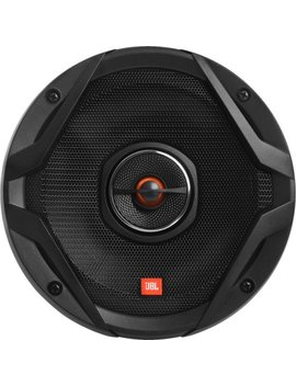 "Gx Series 6.5"" 2 Way Coaxial Car Loudspeakers With Polypropylene Cones (Pair)   Black by Jbl"