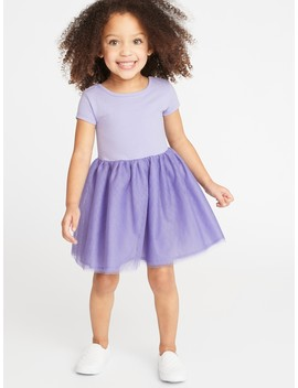 Fit & Flare Tutu Dress For Toddler Girls by Old Navy