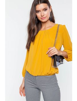 Irene Long Sleeve Blouse by A'gaci