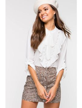 Belle Tie Neck Blouse by A'gaci