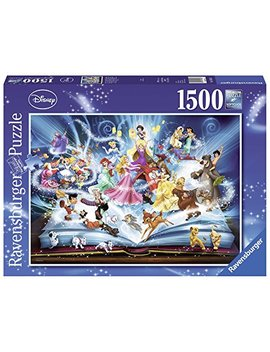 Ravensburger Disneys Magical Book Of Fairytales Jigsaw Puzzle (1500 Piece) by Ravensburger