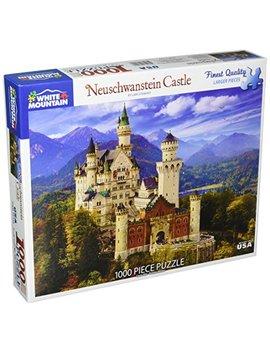 White Mountain Puzzles Neuschwanstein Castle   1000 Piece Jigsaw Puzzle by White Mountain Puzzles
