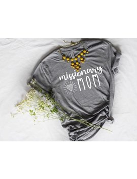 Missionary Mom T Shirt | Lds Shirt | Gift For Mom | Mormon T Shirt | Mother's Day Gift | Short Sleeve Unisex T Shirt by Etsy