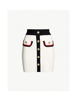 Jerome Tweed Skirt by Maje