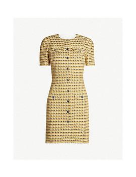Tweed Woven Mini Dress by Maje