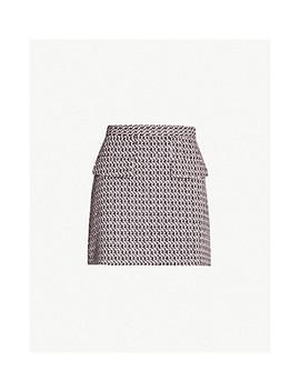 Dixie Tweed Mini Skirt by Topshop