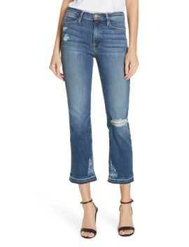 Le High Release Hem Straight Leg Jeans by Frame