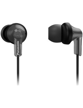 Panasonic Rp Hje120 B K Ergofit In Ear Earbud Headphones With Bluetooth (Black) by Panasonic