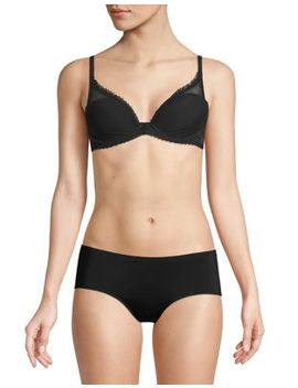 Plunge Lightly Lined Bra by Calvin Klein