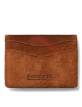 Roughout Suede Card Holder by Ralph Lauren