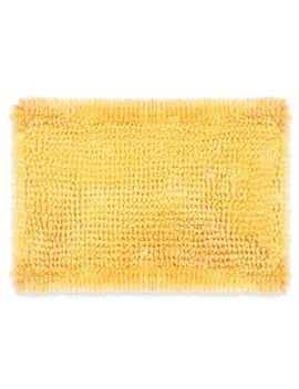 Laura Ashley® Butter Chenille Bath Rug by Bed Bath And Beyond