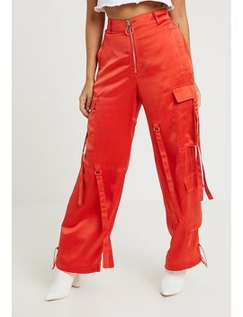 Wide Leg Utility Trouser   Stoffhose by Missguided Petite