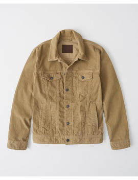 Corduroy Trucker Jacket by Abercrombie & Fitch