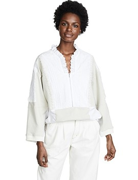 Broderie Anglaise Anorak by Koche