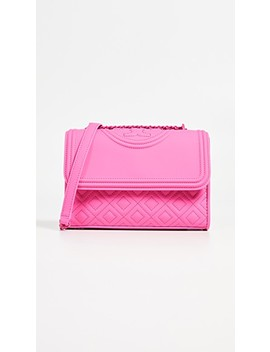 Fleming Matte Small Convertible Shoulder Bag by Tory Burch