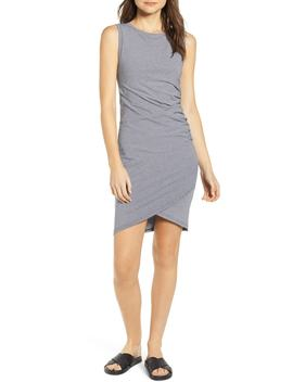 Mead Ruched T Shirt Dress by Lira Clothing