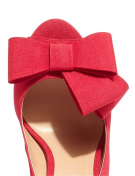 Tilly Grograin Peep Toe Shoe by Phase Eight