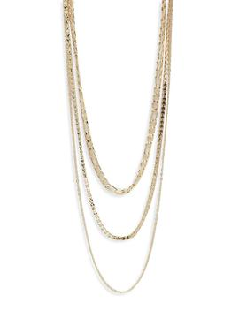 Choker Layered Necklace by Boohoo