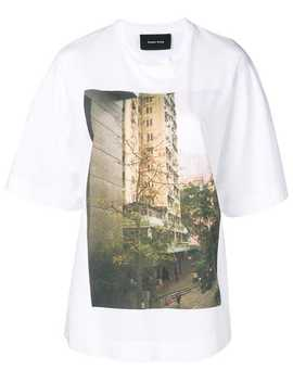 City Print T Shirt by Simone Rocha