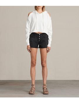button-boy-shorts by allsaints