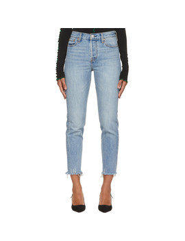 Blue Wedgie Jeans by Levi's