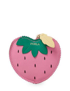 Furla Golosa Strawberry Coin Case by Furla