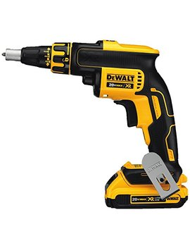Dewalt Dcf620 D2 2.0 Ah 20 Volt Max Xr Li Ion Brushless Drywall Screw Gun by Dewalt
