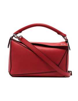 Small Puzzle Shoulder Bag by Loewe