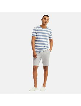 Men Easy Jersey Heather Shorts by Uniqlo