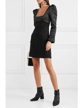 Heritage Faille Mini Dress by Ellery