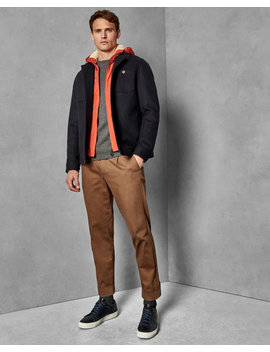 2 In 1 Wool Jacket by Ted Baker