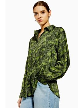 **Alligator Shirt By Boutique by Topshop