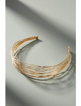 Sparkling Strands Headband by Anthropologie