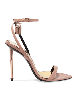 Padlock Leather Sandals by Tom Ford