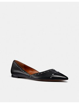 Valintina Flat With Studs by Coach