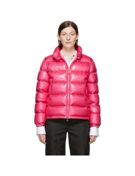 Pink Down Copenhagen Jacket by Moncler