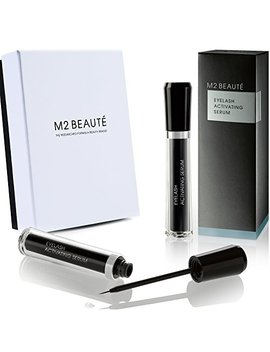 M2 Beaute Eyelash Activating Serum 5 Milliliter And M2 Beaute Box, Dermatologist Tested Product, Highest German Quality Professional Eyelash Serum For Growing Natural Lashes by M2 Beaute