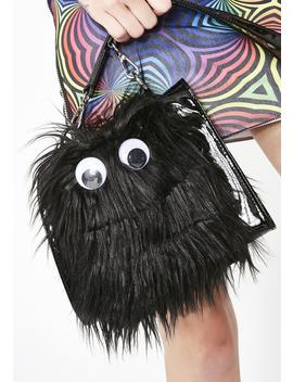 Sleep Paralysis Furry Purse by Current Mood