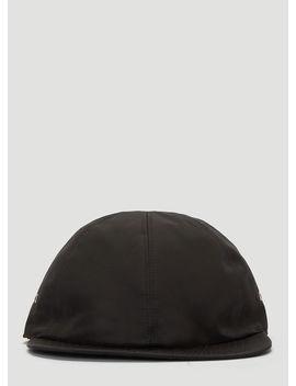 Buckle Baseball Cap In Black by 1017 Alyx 9 Sm