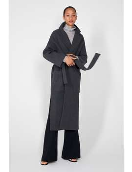 Belted Double  Breasted Coatspecial Prices Woman by Zara